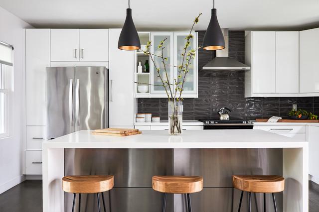 Manieren om uw keuken er groter uit te laten zien en aanvoelen